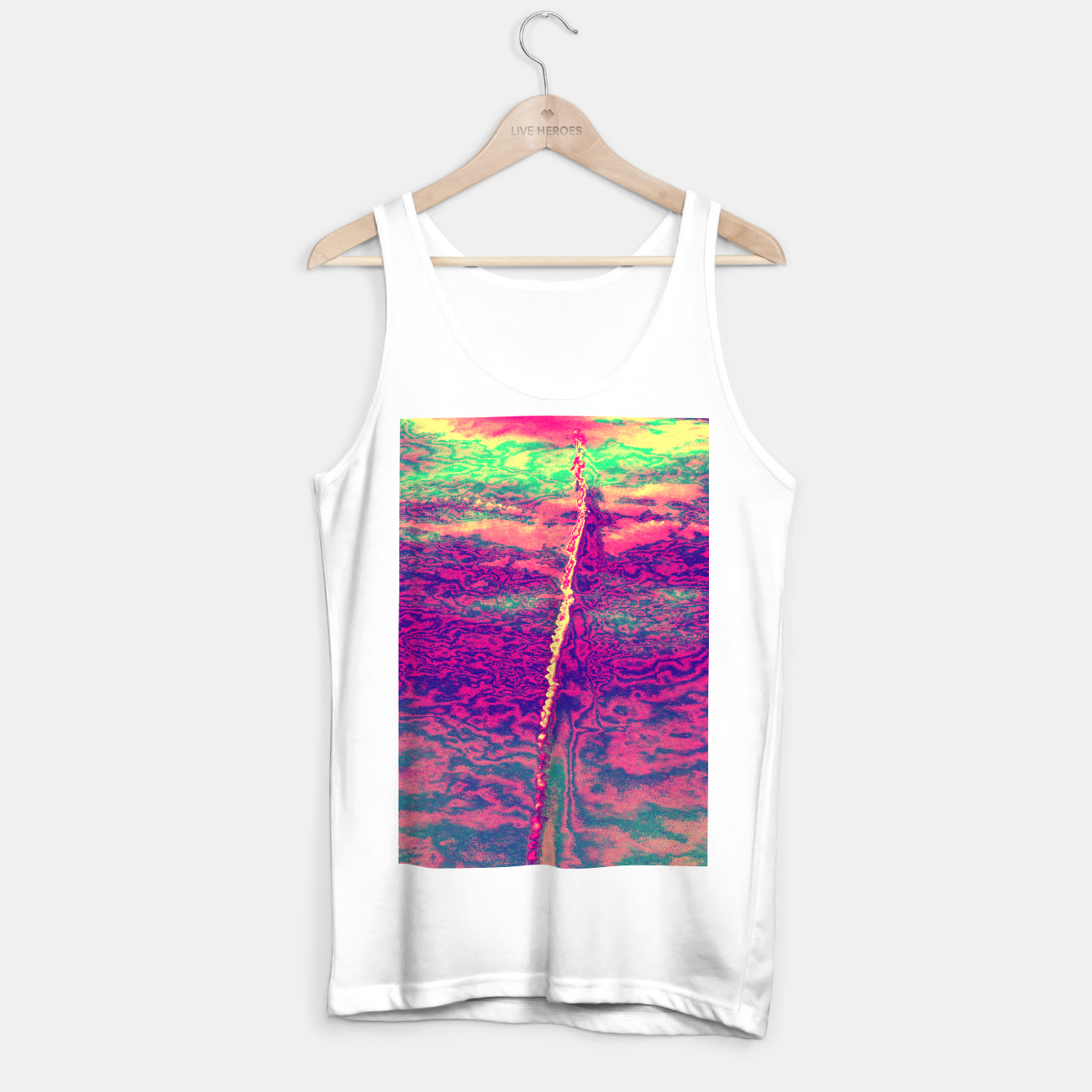 Image de Sky Trail Tank Top regular - Live Heroes