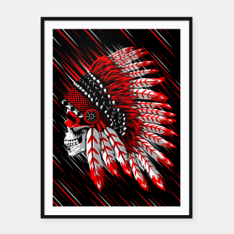 Indian Chief Skull Cartel con marco thumbnail image