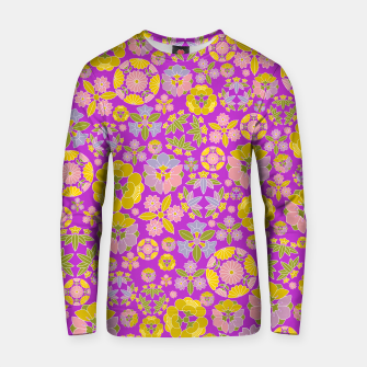 Thumbnail image of Floral pattern Cotton sweater, Live Heroes