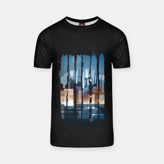 Miniature de image de city brush strokes T-shirt, Live Heroes