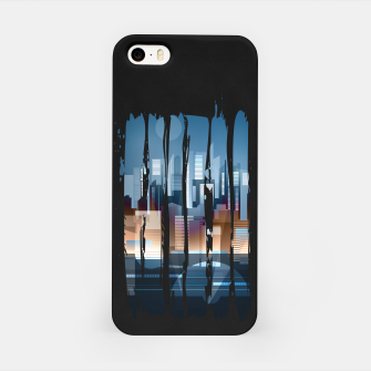 Thumbnail image of city brush strokes iPhone Case, Live Heroes
