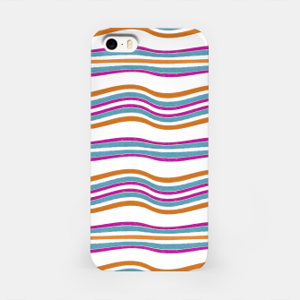 Thumbnail image of Colorful Wavy Stripes Pattern iPhone Case, Live Heroes