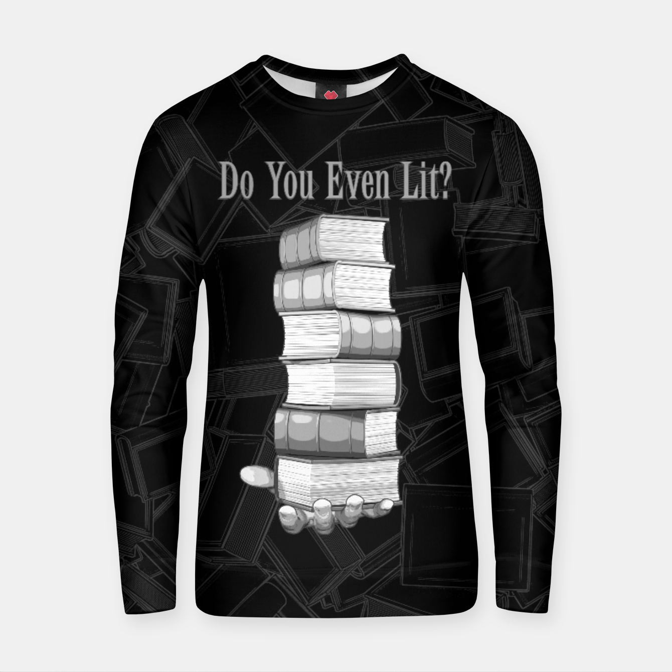 Image of Do You Even Lit? Cotton sweater - Live Heroes