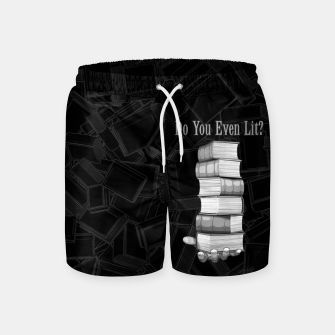Do You Even Lit? Swim Shorts thumbnail image