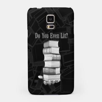 Thumbnail image of Do You Even Lit? Samsung Case, Live Heroes