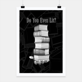Do You Even Lit? Poster thumbnail image