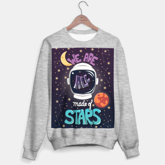 We are all made of stars Sweater regular thumbnail image