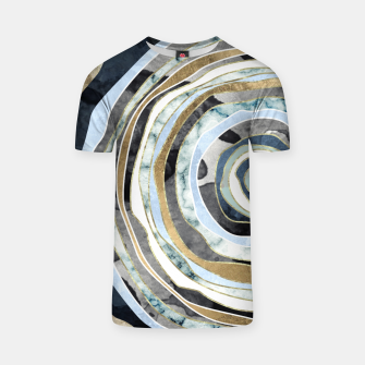 Wood Slice Abstract T-shirt thumbnail image