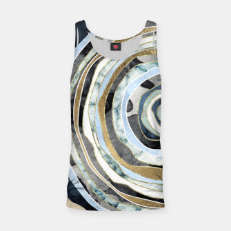 Wood Slice Abstract Tank Top thumbnail image