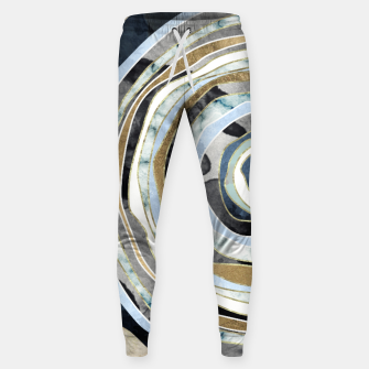 Wood Slice Abstract Cotton sweatpants thumbnail image