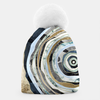 Wood Slice Abstract Beanie thumbnail image