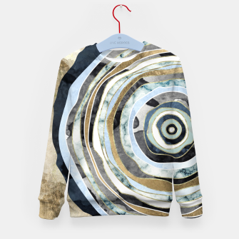 Wood Slice Abstract Kid's sweater thumbnail image
