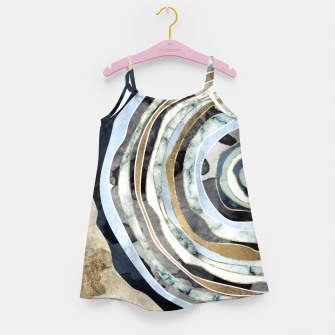 Wood Slice Abstract Girl's dress thumbnail image