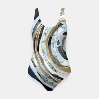 Wood Slice Abstract Swimsuit thumbnail image