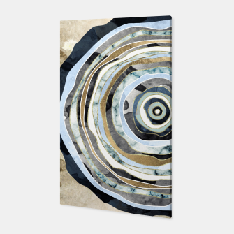 Wood Slice Abstract Canvas thumbnail image