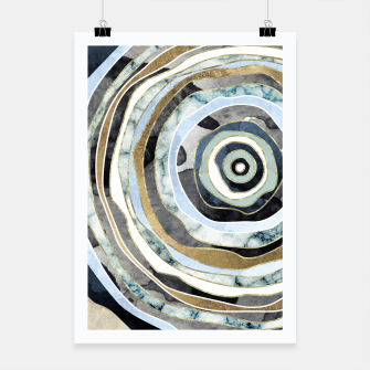 Wood Slice Abstract Poster thumbnail image