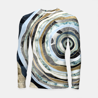 Wood Slice Abstract Longsleeve rashguard  thumbnail image