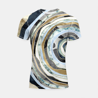 Wood Slice Abstract Shortsleeve rashguard thumbnail image