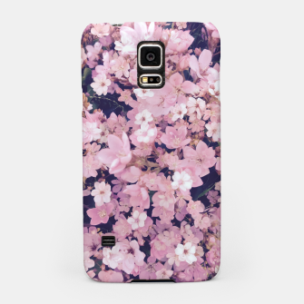 Thumbnail image of blossom blooming pink flower texture pattern abstract background Samsung Case, Live Heroes