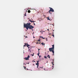 Thumbnail image of blossom blooming pink flower texture pattern abstract background iPhone Case, Live Heroes