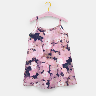 Thumbnail image of blossom blooming pink flower texture pattern abstract background Girl's dress, Live Heroes