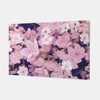 Thumbnail image of blossom blooming pink flower texture pattern abstract background Canvas, Live Heroes