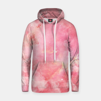 Thumbnail image of Pink clouds Cotton hoodie, Live Heroes