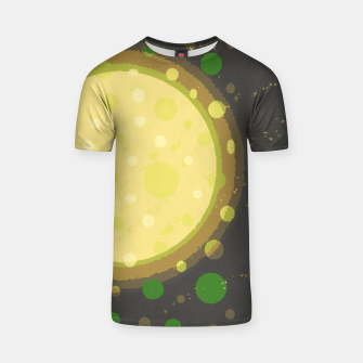 Thumbnail image of Yellow Planet T-shirt, Live Heroes