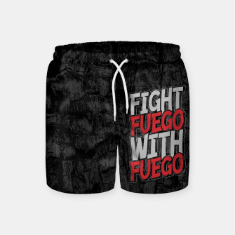 Thumbnail image of Fight Fuego With Fuego Swim Shorts, Live Heroes