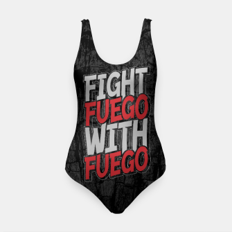 Fight Fuego With Fuego Swimsuit thumbnail image