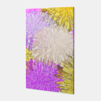 Thumbnail image of Dandelion Blossom Collage Canvas, Live Heroes