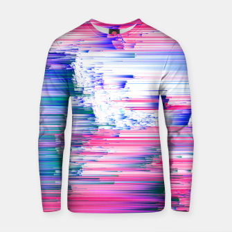 Miniaturka Only 90s Kids - Pastel Glitchy Abstract Pixel Art Cotton sweater, Live Heroes