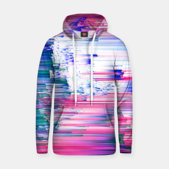 Miniaturka Only 90s Kids - Pastel Glitchy Abstract Pixel Art Cotton hoodie, Live Heroes
