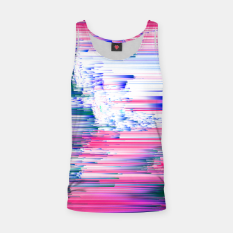 Miniaturka Only 90s Kids - Pastel Glitchy Abstract Pixel Art Tank Top, Live Heroes