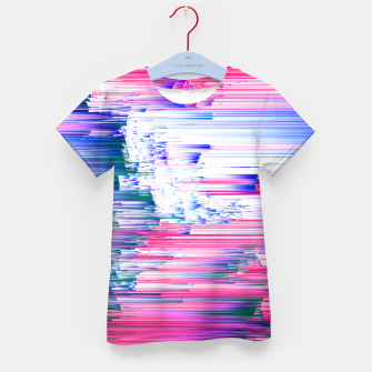 Miniaturka Only 90s Kids - Pastel Glitchy Abstract Pixel Art Kid's t-shirt, Live Heroes