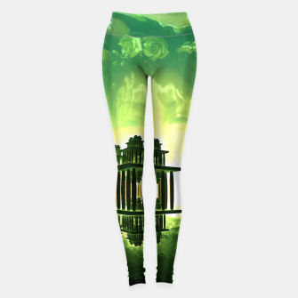 Miniatur Update Fractal Temple Of Oblivion Green  Legginsy, Live Heroes