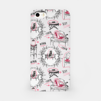 Thumbnail image of Toile fashion women Carcasa por Iphone, Live Heroes
