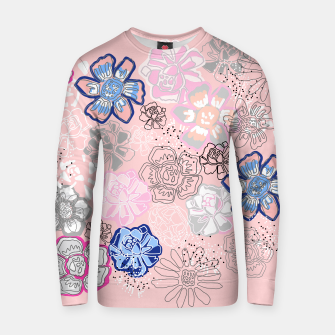 Thumbnail image of Pretty Flowers Cotton sweater, Live Heroes