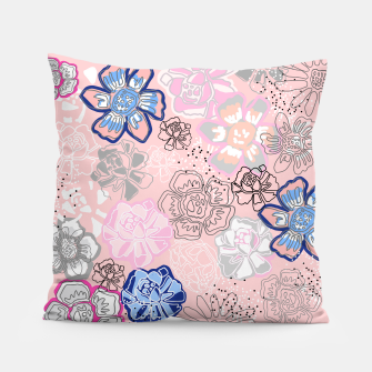 Thumbnail image of Pretty Flowers Pillow, Live Heroes