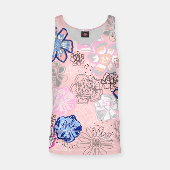 Thumbnail image of Pretty Flowers Tank Top, Live Heroes