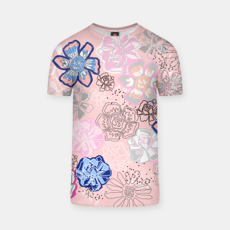 Thumbnail image of Pretty Flowers T-shirt, Live Heroes