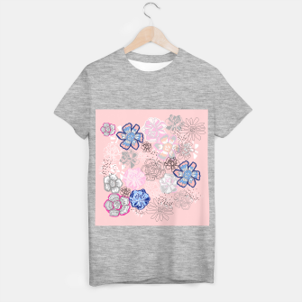 Thumbnail image of Pretty Flowers T-shirt regular, Live Heroes