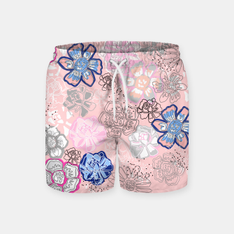 Thumbnail image of Pretty Flowers Swim Shorts, Live Heroes
