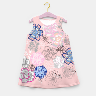 Thumbnail image of Pretty Flowers Girl's summer dress, Live Heroes