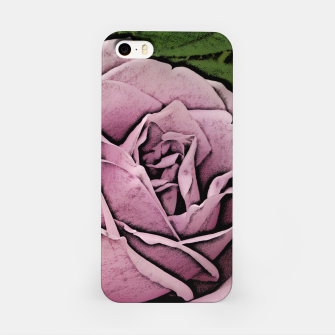 Miniature de image de Pink Rose iPhone Case, Live Heroes