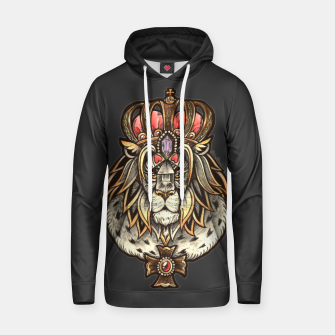 Thumbnail image of Black True King Cotton hoodie, Live Heroes