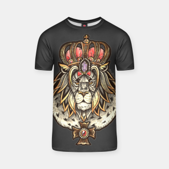 Thumbnail image of Black True King T-shirt, Live Heroes