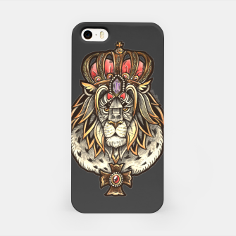 Thumbnail image of Black True King iPhone Case, Live Heroes