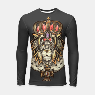 Thumbnail image of Black True King Longsleeve rashguard , Live Heroes