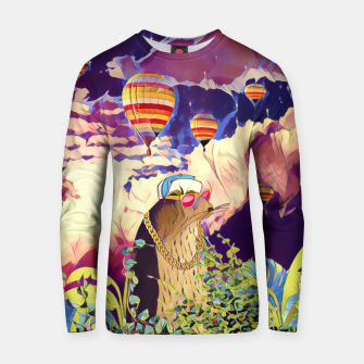Miniatur Air Balloons Cotton sweater, Live Heroes